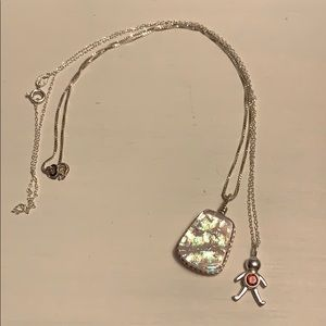 Jewelry - Sterling silver necklace lot